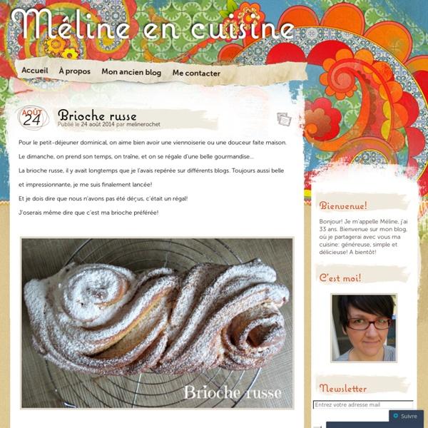 Méline en cuisine