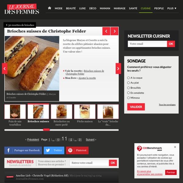 Brioches suisses de Christophe Felder : 30 recettes de brioches