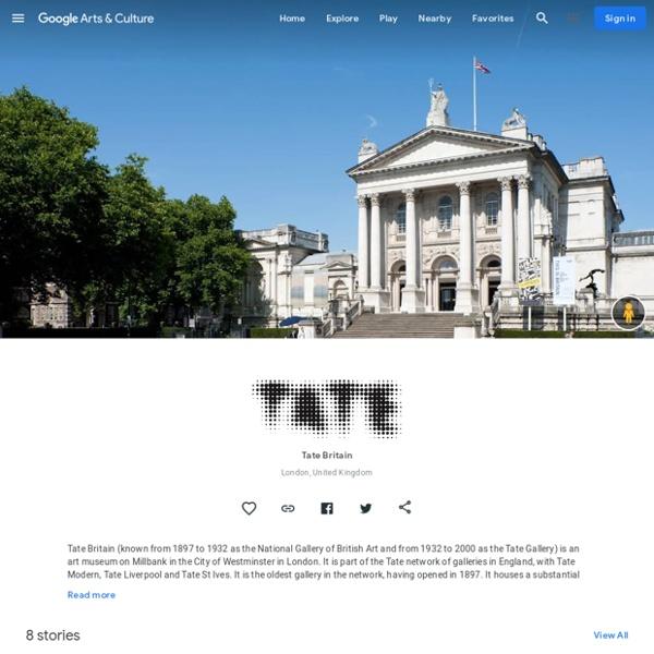 Tate Britain, London, Royaume-Uni