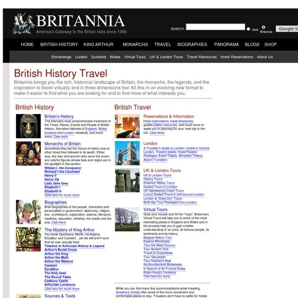Britannia.com - British History Travel