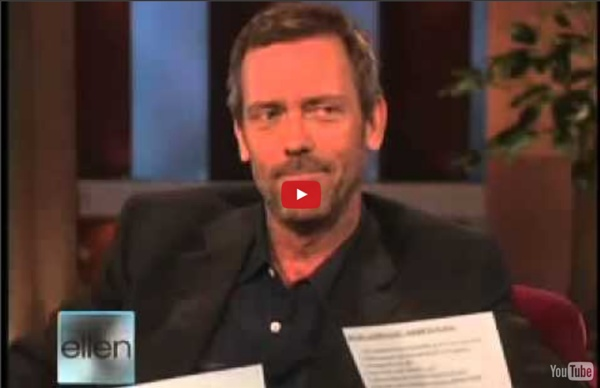 Hugh Laurie: the British accent vs the American