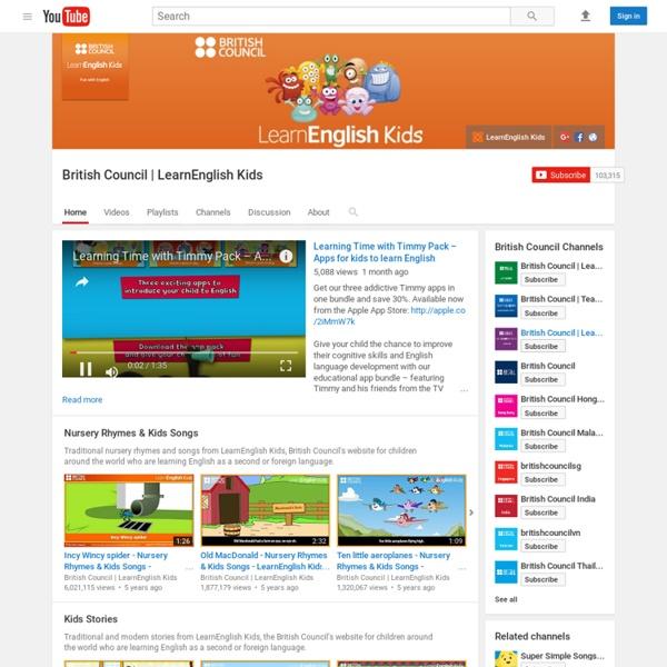 British Council LearnEnglish Kids