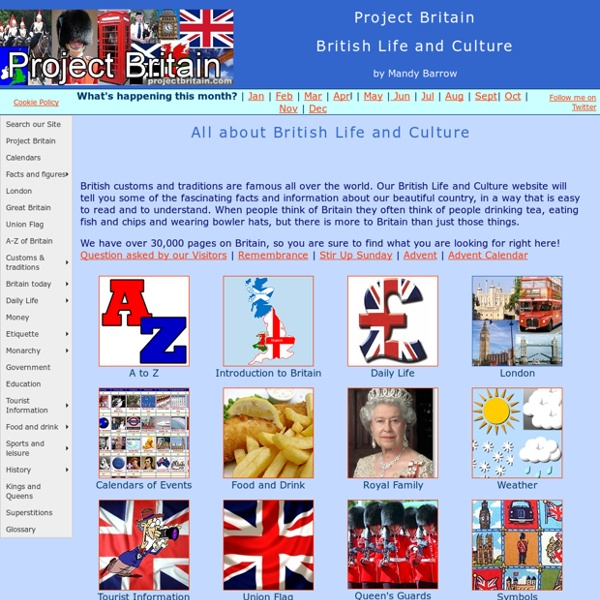 British Life and Culture in the UK - Woodlands Junior School
