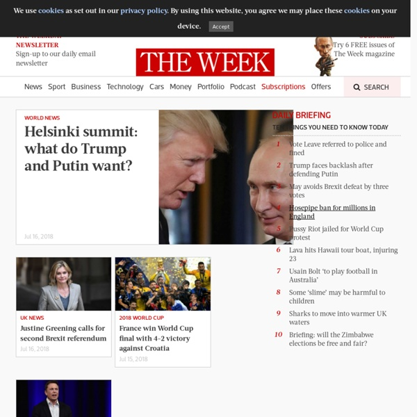 British & foreign news, opinion, sport, people & business.