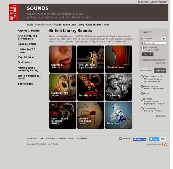 British Library - Sounds