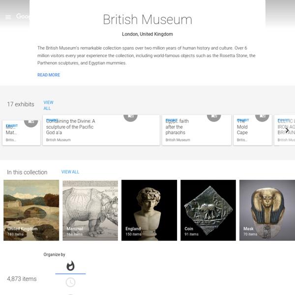 British Museum - Institut culturel de Google