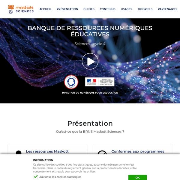 BRNE - Banque de ressources numériques - Sciences