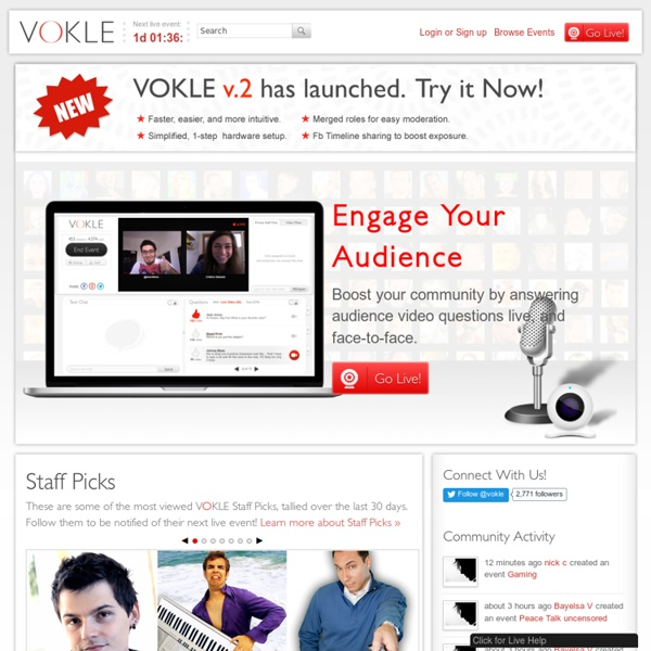 Host a show and have live video discussions with your audience i