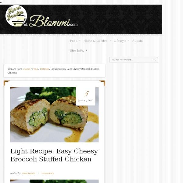 Easy Light Broccoli Cheese Stuffed Chicken Recipe