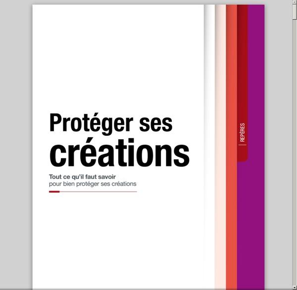 Protéger ses créations (brochure Inpi)