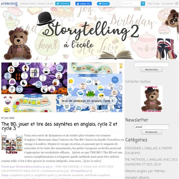 Brown Bear & Co, L'anglais avec le Storytelling