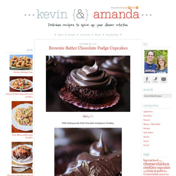 Brownie Batter Chocolate Fudge Cupcakes