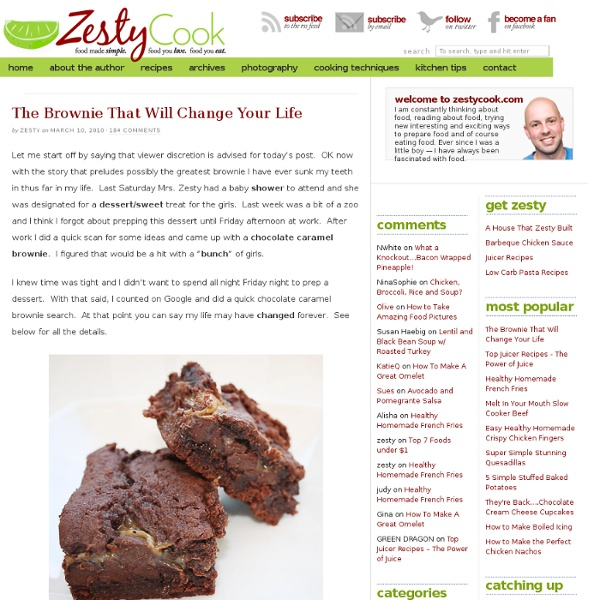 The Brownie That Will Change Your Life