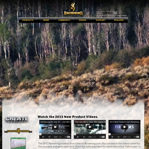 Browning North America's Official Web Site