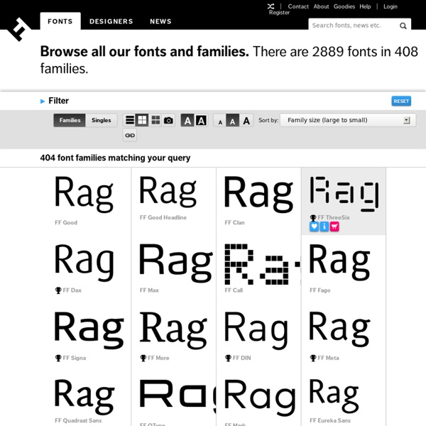 Browse Fonts