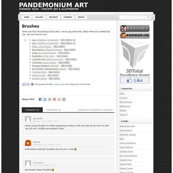 Brushes « PANDEMONIUM ART