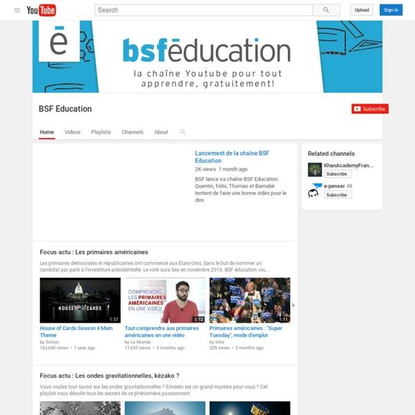 BSF Education
