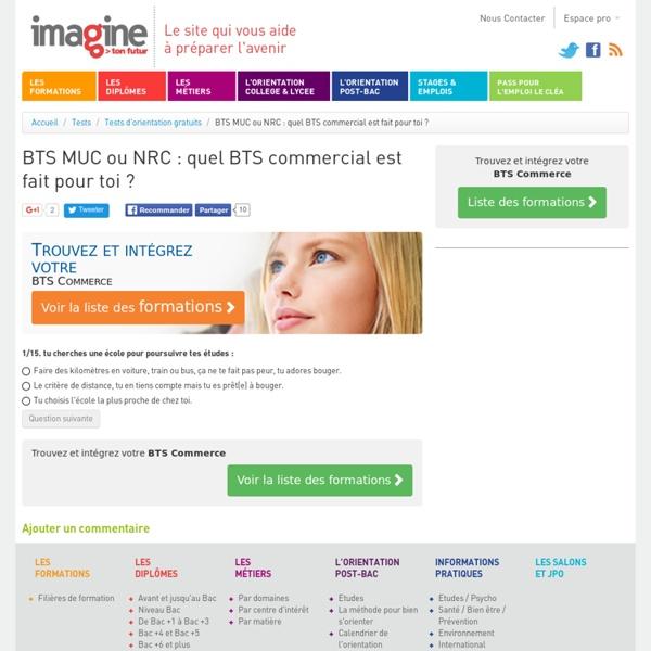 BTS MUC ou NRC : quel BTS commercial est fait pour toi ?