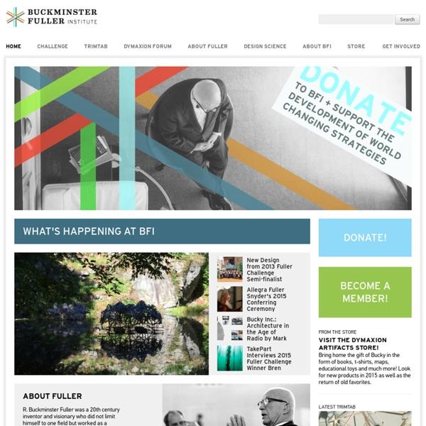 The Buckminster Fuller Institute