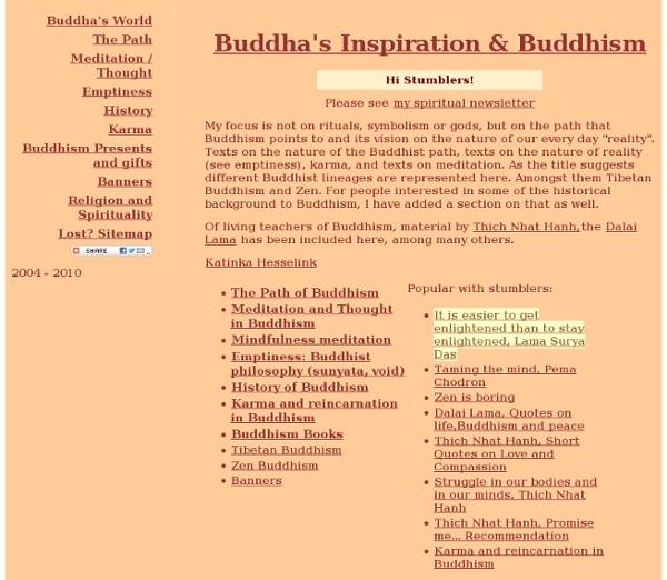 Buddha's World & Buddhism