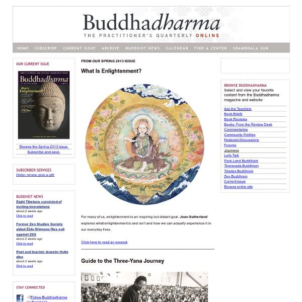 Buddhadharma - Home