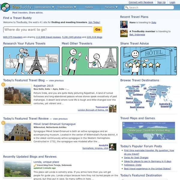Travel Buddies, Travel Community, Hotel Reviews