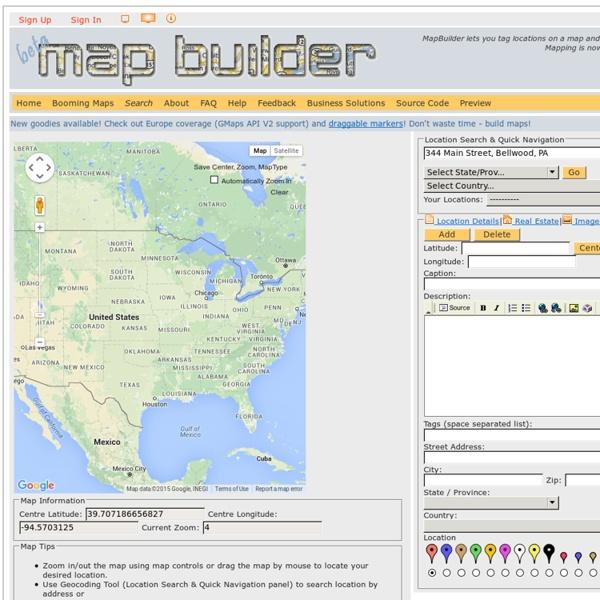 Rapid mashup development tool to build custom Google and Yahoo maps!