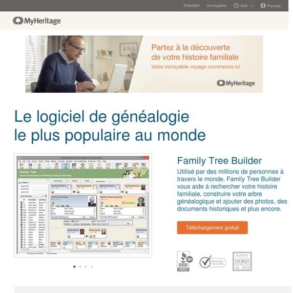Family Tree Builder - Programme de généalogie gratuit