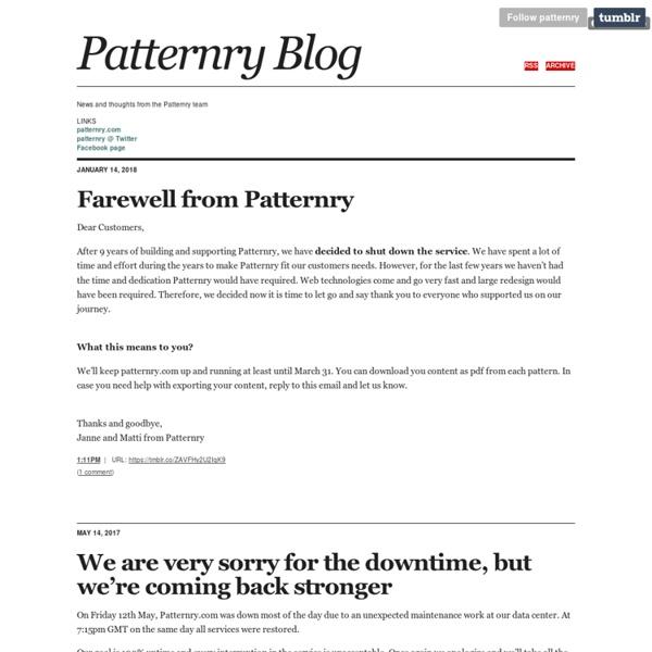 UI Design Pattern Library
