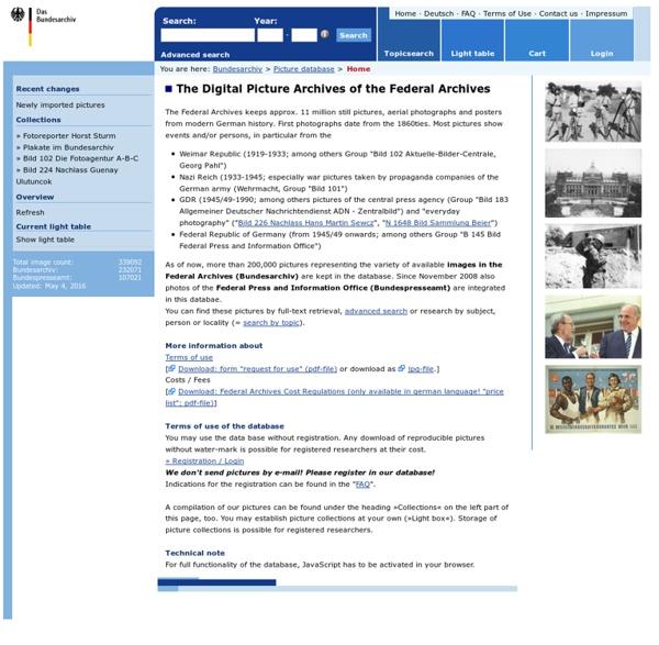 Bundesarchiv - Bilddatenbank: