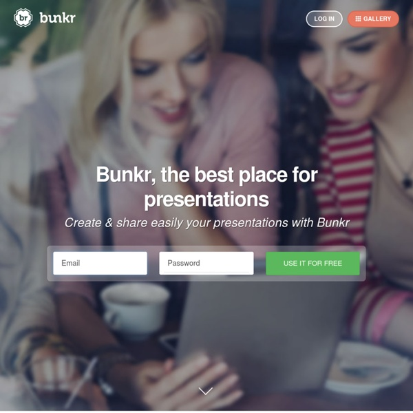 Goodbye PowerPoint! Bunkr is going beyond presentation : Collect, Organize, Present