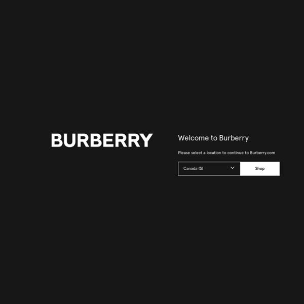 Burberry - Iconic British Luxury Brand Est. 1856