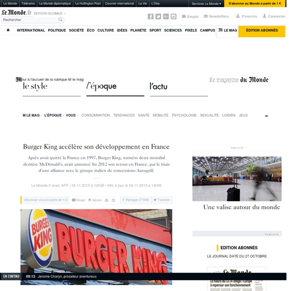 Burger King accélère son développement en France