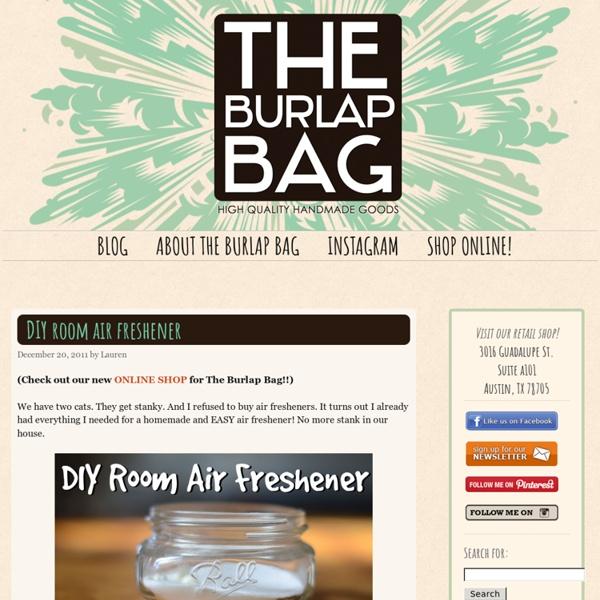 The Burlap Bag - High Quality Handmade Goods Shop - Austin Texas - Pale Moon