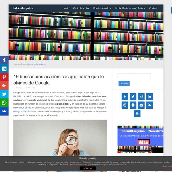 16 buscadores académicos que harán que te olvides de Google
