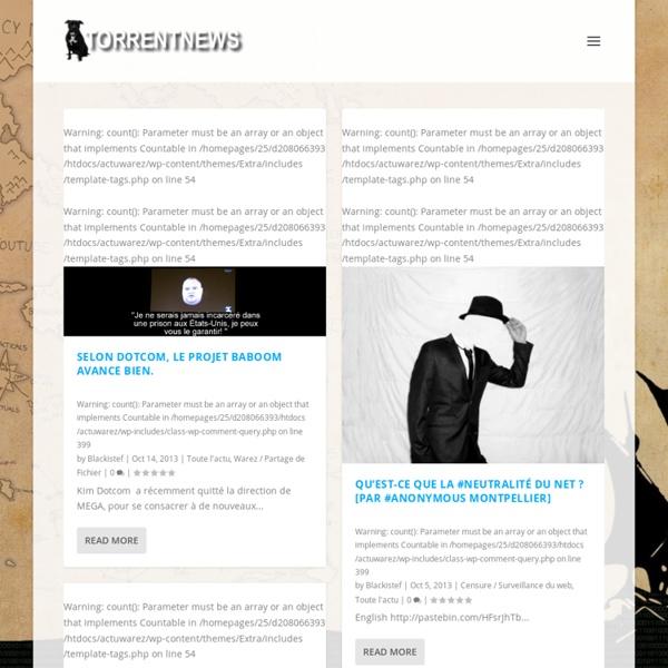 TorrentNews pour le partage, la culture et l'info pour tous, loin des cancans du business