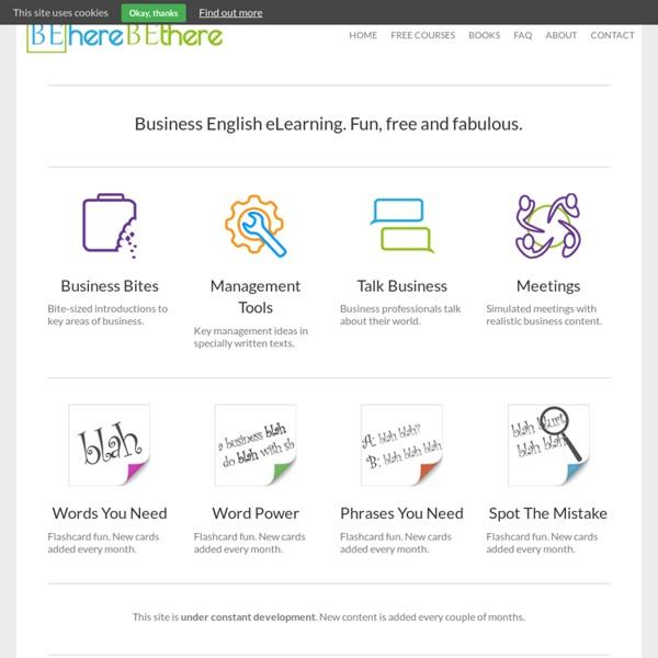 Fun & Free Business English Courses