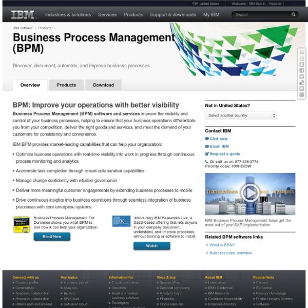 Business Process Management Software, BPM Software