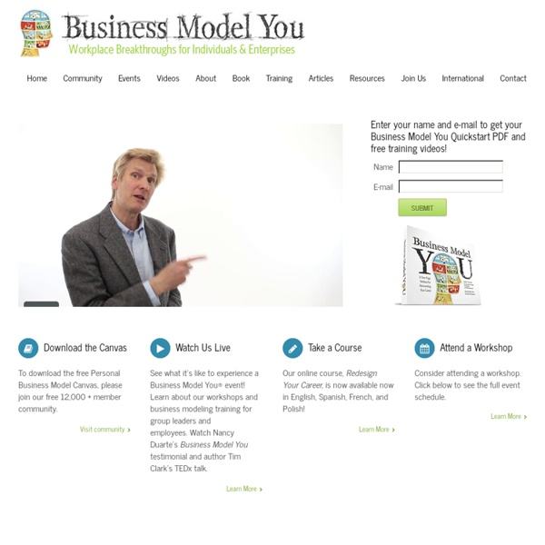 Business Model You® Home - Business Model You®