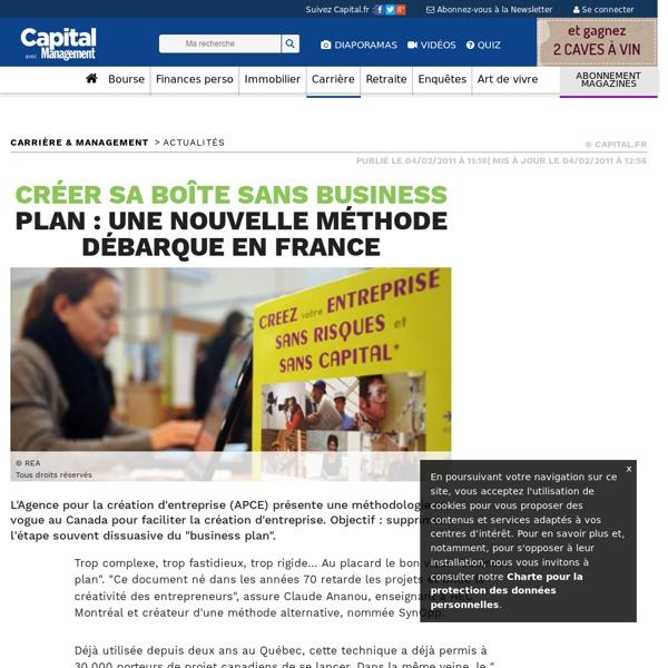 Créer sa boîte sans business plan : une nouvelle méthode débarque en France