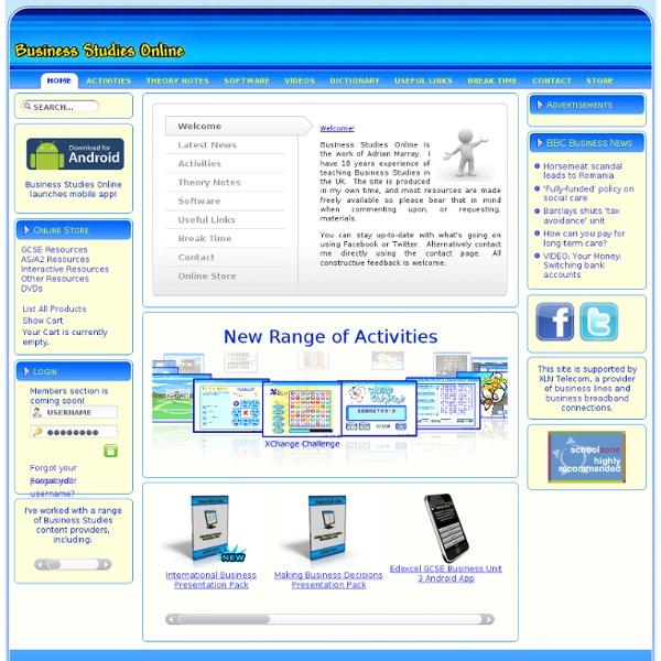 Business Studies Online