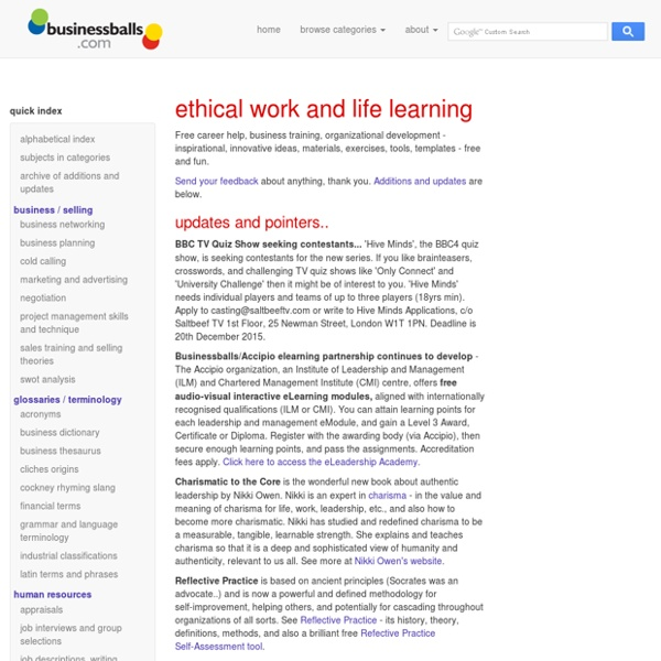 Free online learning for careers, work, management ...