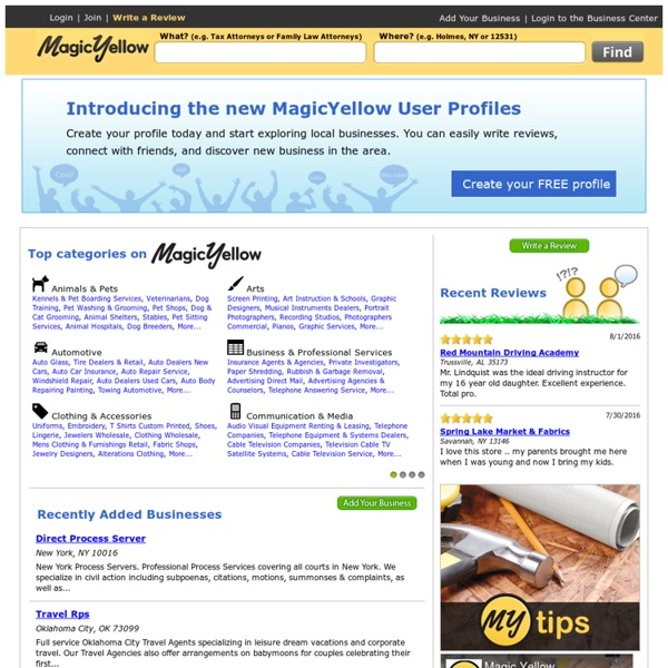 Yellow Pages, Local Businesses, Ratings & Reviews