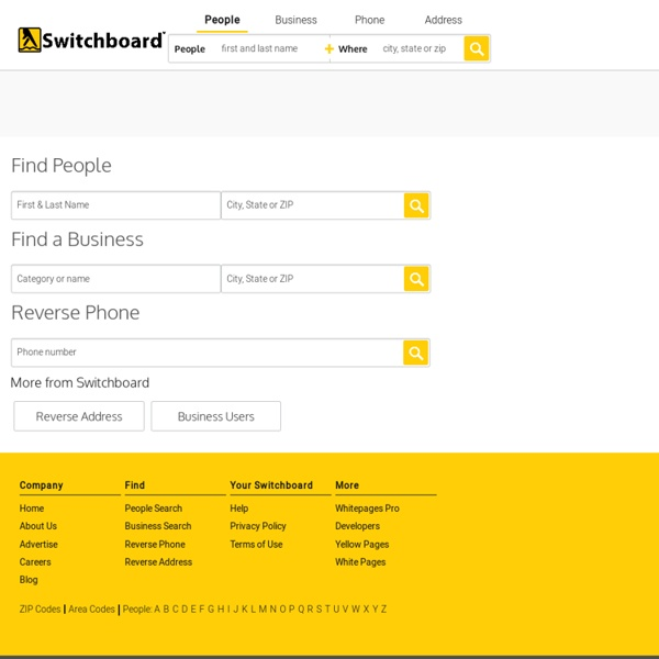 Internet Phonebook – Find Phone Numbers and Search Businesses