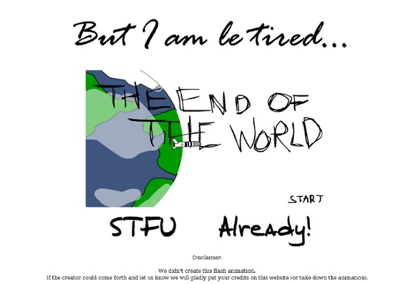 But I am le tired... - StumbleUpon