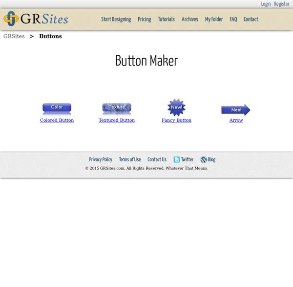 Web Button Maker, Free Web Button Generator - GRSites