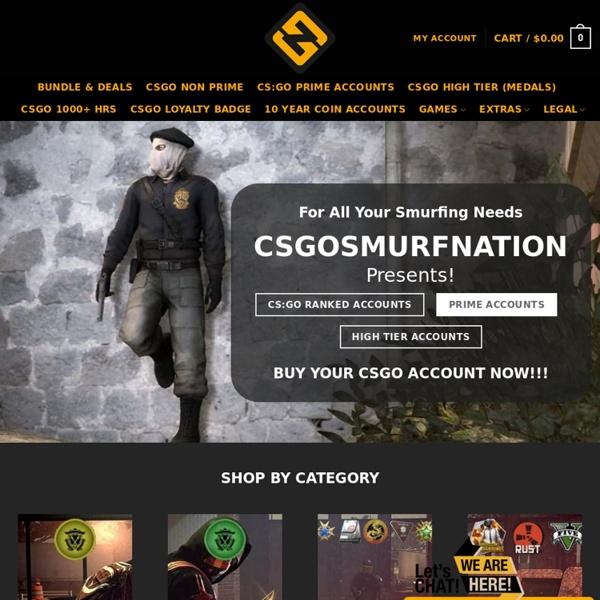 Cheap CSGO Smurf Ranked Accounts