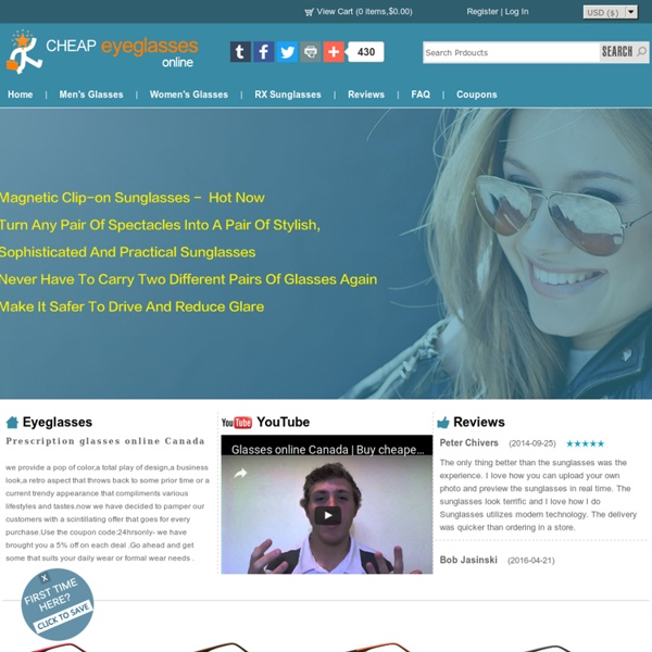 Buy Eyeglasses Online in Canada