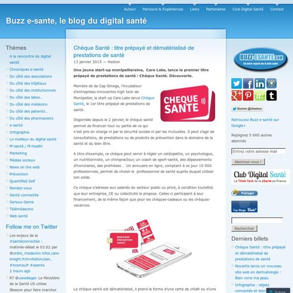 Buzz e-sante, un autre regard sur le web santé