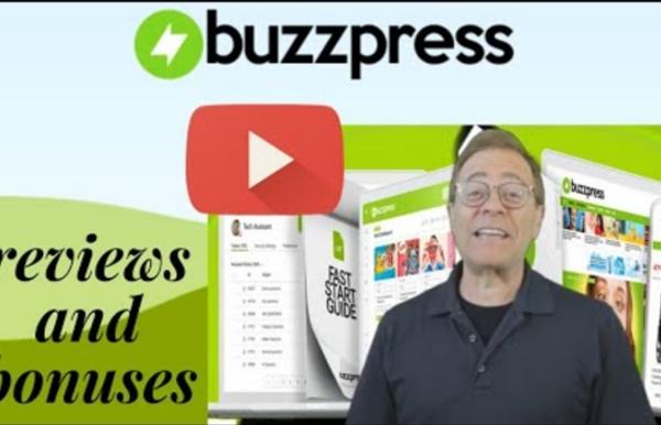 Buzzpress Innovation Money-Making Website Building Contractor Plug & Earnings Viral Websites!